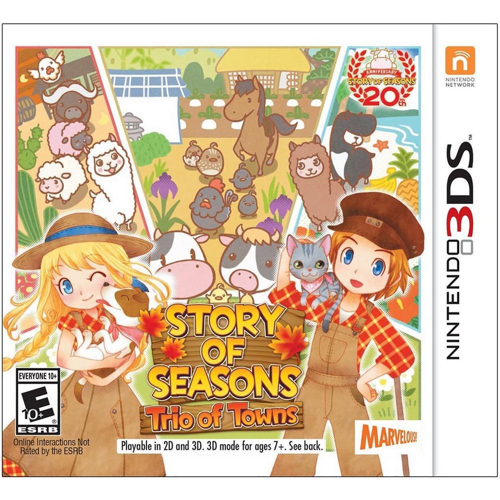 Story of Seasons: Trio of Towns | Nintendo 3DS | GameStop