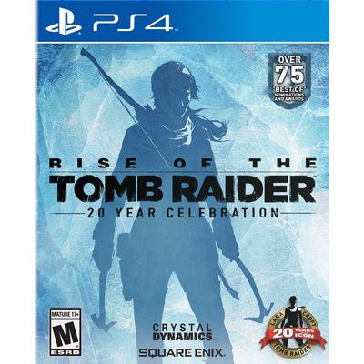 Rise Of The Tomb Raider 20 Year Celebration Edition Playstation 4 Gamestop