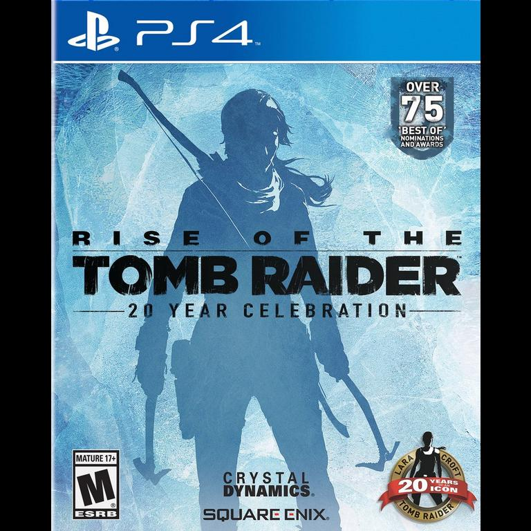 Rise Of The Tomb Raider 20 Year Celebration Edition Playstation 4