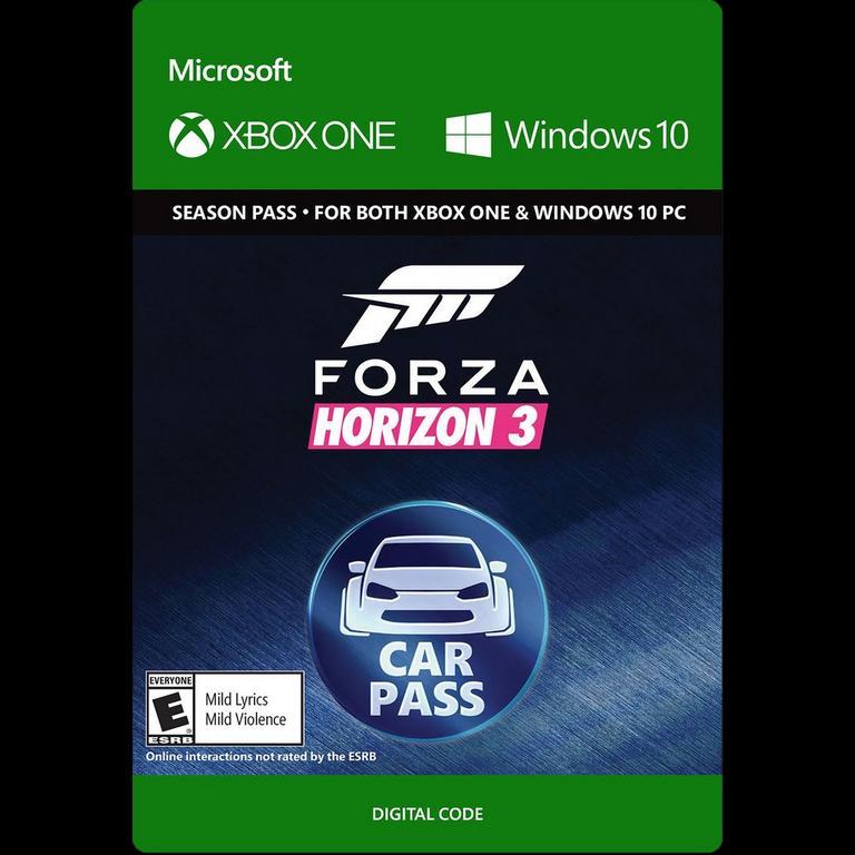 Forza Horizon 3 Car Pass
