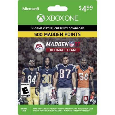 Madden NFL 17 Ultimate Team 500 Points