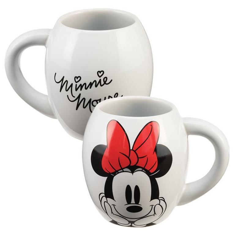 Disney Minnie Mouse 18 oz. Oval Ceramic Mug