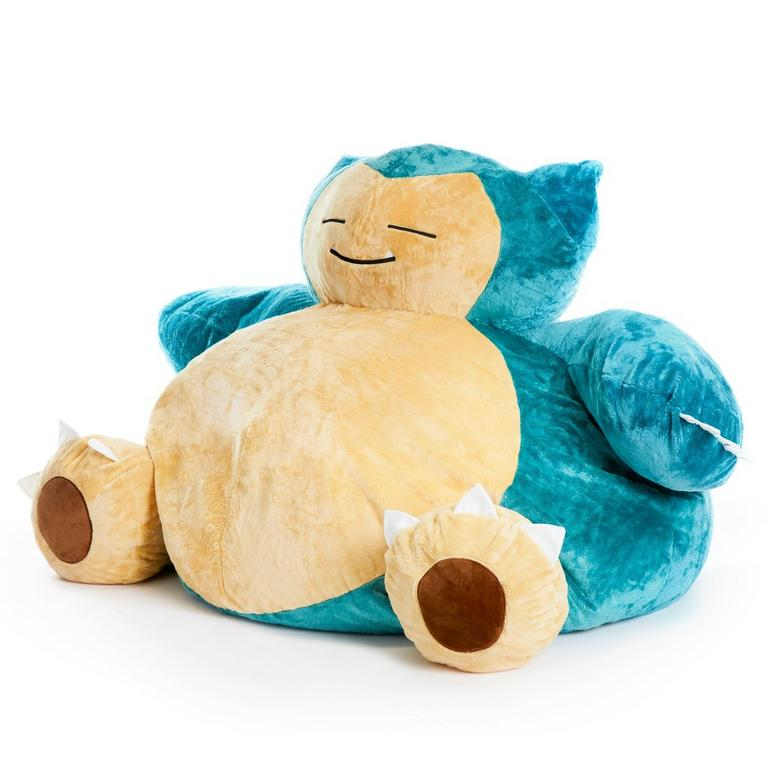 Pleasant Pokemon Snorlax Bean Bag Chair Gamestop Caraccident5 Cool Chair Designs And Ideas Caraccident5Info