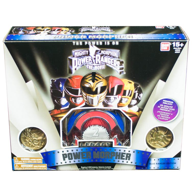 Power Rangers Legacy Blue Power Morpher