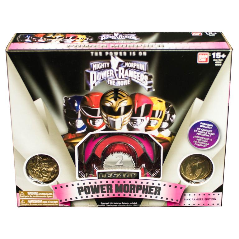 Power Rangers Legacy Pink Power Morpher