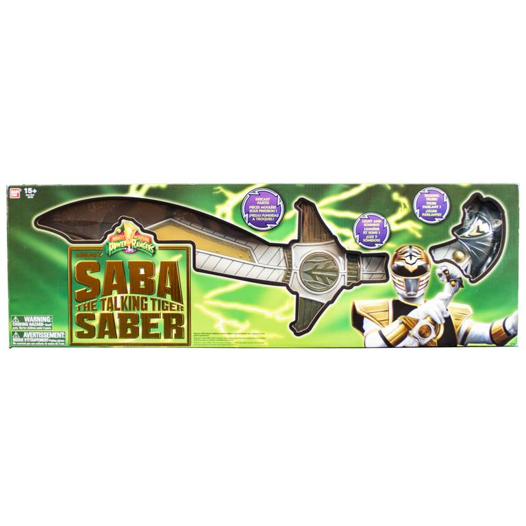 Power Rangers Legacy White Ranger Saba Sword