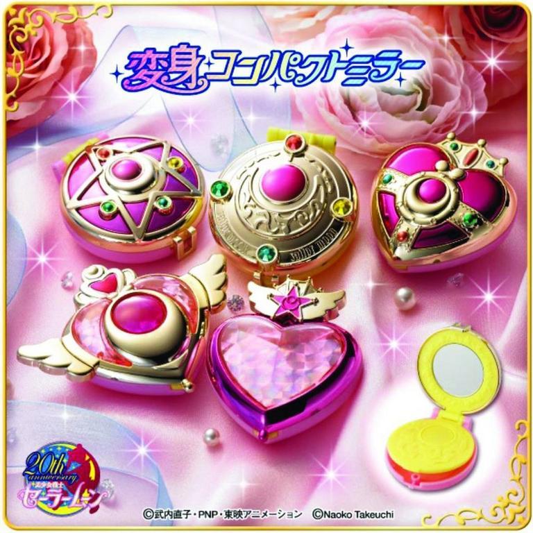 Sailor Moon Transforming Compact Set