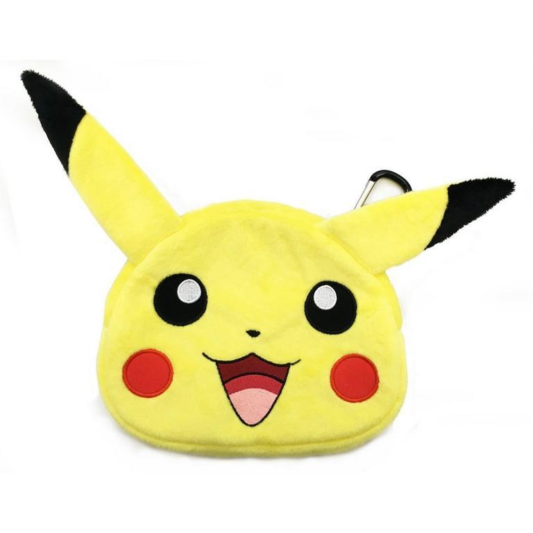 Pikachu Plush Pouch for New Nintendo 3DS XL