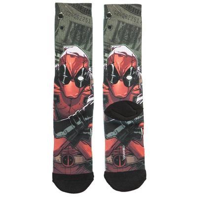 Deadpool Cash Crew Socks