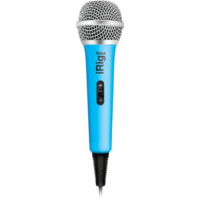 IK Multimedia iRig Voice karaoke microphone - blue