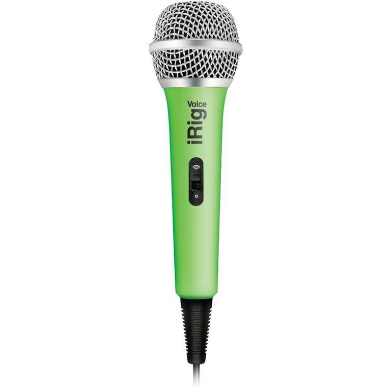 IK Multimedia iRig Voice karaoke microphone - green