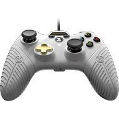 Xbox One FUSION White Wired Controller Only at GameStop