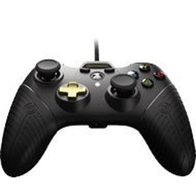 Xbox One FUSION Black Wired Controller