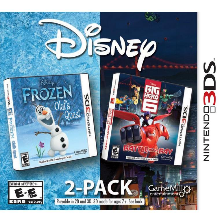 Disney 2 Pack: Frozen Olaf's Quest and Big Hero 6