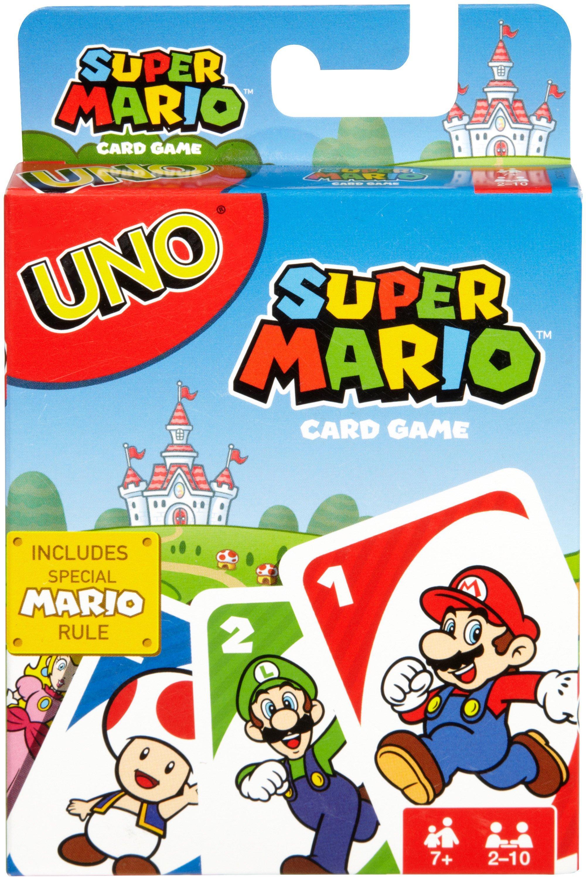 UNO Super Mario Card Game | GameStop