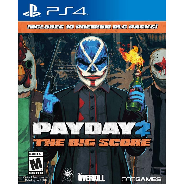 Payday 2 The Big Score