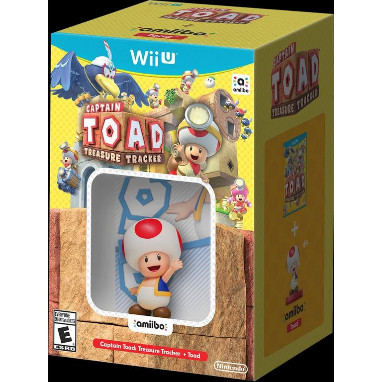 Captain Toad Treasure Tracker with Toad amiibo Bundle