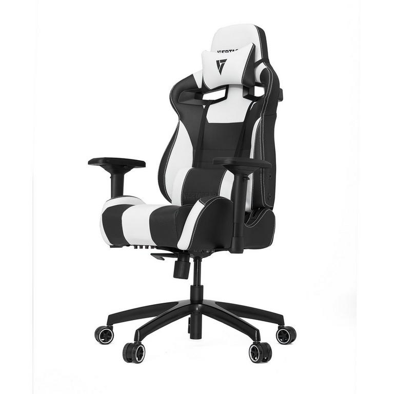 S-Line SL4000 Black and White Gaming Chair