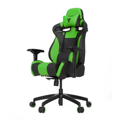S-Line SL4000 Black and Green Gaming Chair