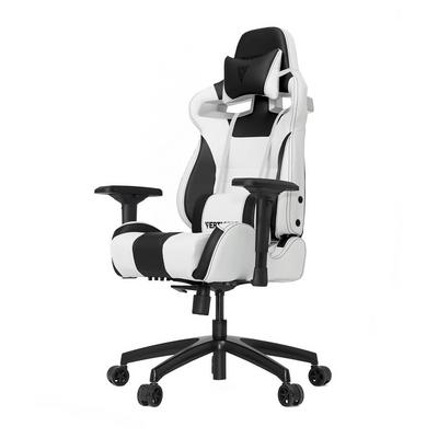 S-Line SL4000 White and Black Gaming Chair