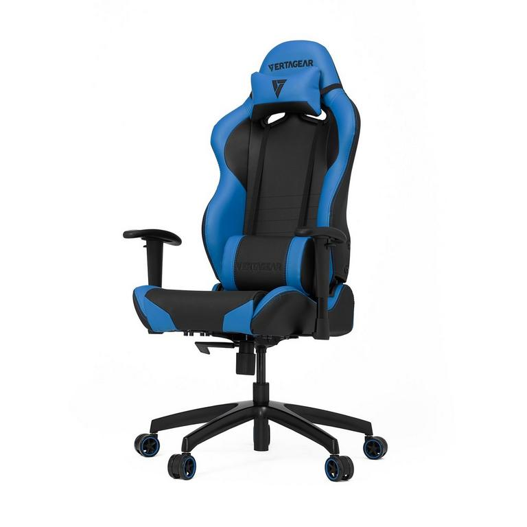S-Line SL2000 Black and Blue Gaming Chair