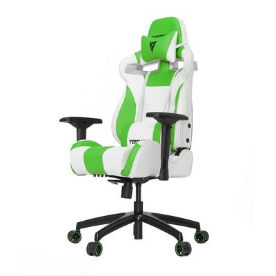 SL4000 Gaming Office Chair White/Green Edition