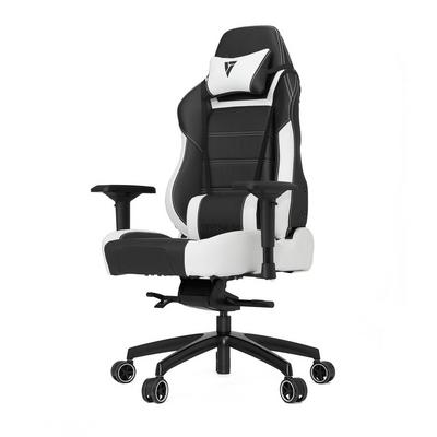 P-Line PL6000 Black and White Gaming Chair