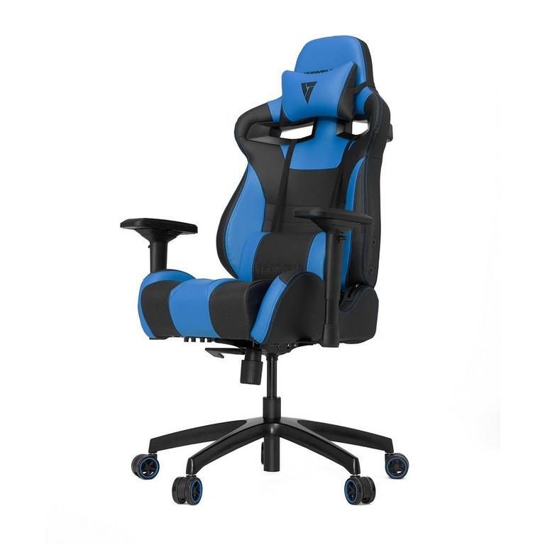 S-Line SL4000 Black and Blue Gaming Chair