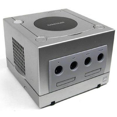 Nintendo GameCube System - Silver