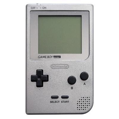 Nintendo Game Boy Pocket - Silver