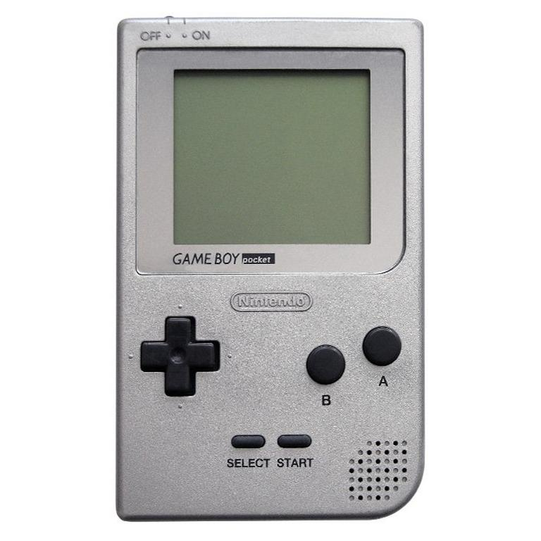 Nintendo Game Boy Pocket Silver