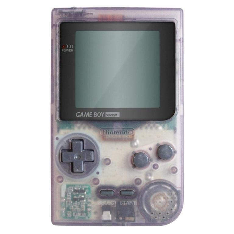 Nintendo Game Boy Pocket - Clear
