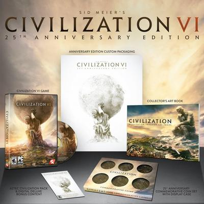 Sid Meier's Civilization VI 25th Anniversary Edition