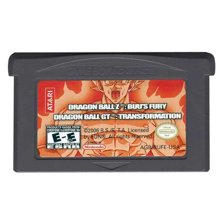 Dragon Ball Z: Buu's Fury / Dragon Ball GT: Transformation
