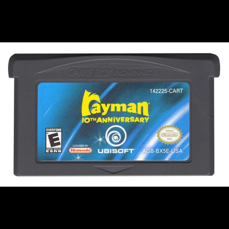 Rayman 10th Anniversary Game Boy Advance Gamestop