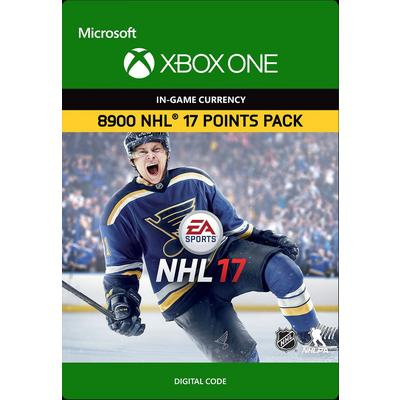 NHL 17 Ultimate Team 8900 Points
