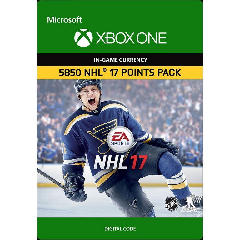 NHL 17 5,850 HUT Points