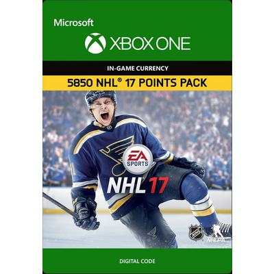 NHL 17 Ultimate Team 5850 Points