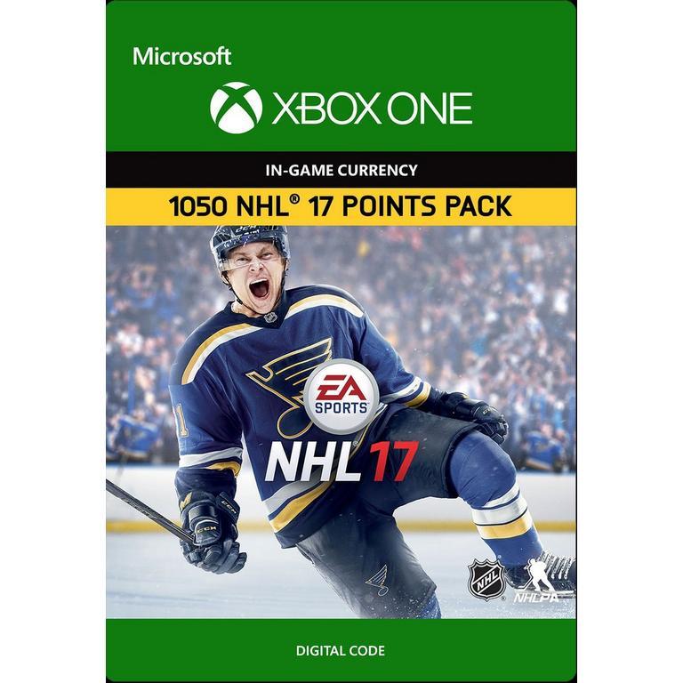 NHL 17 1,050 HUT Points