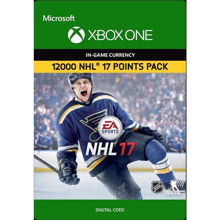 NHL 17 Ultimate Team 12000 Points