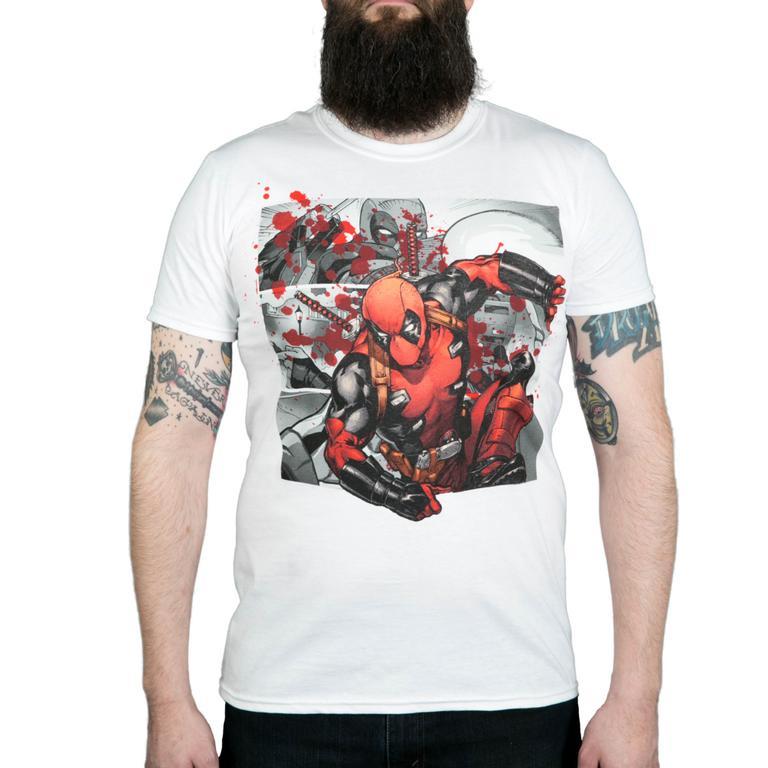 Deadpool Bustin' Out Shirt
