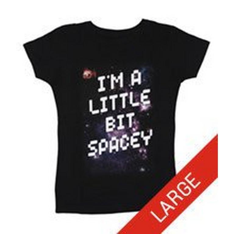 I'm a Little Bit Spacey Juniors T-Shirt