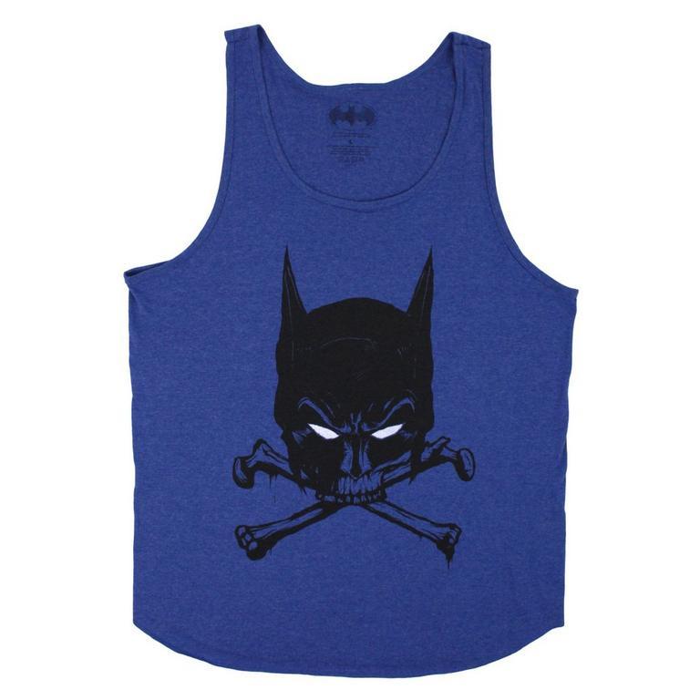 Batman Bat and Bones Tank Top