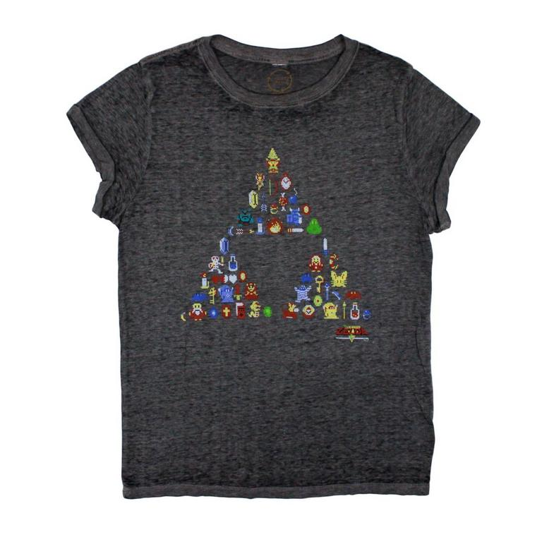 The Legend of Zelda Triforce Juniors T-Shirt
