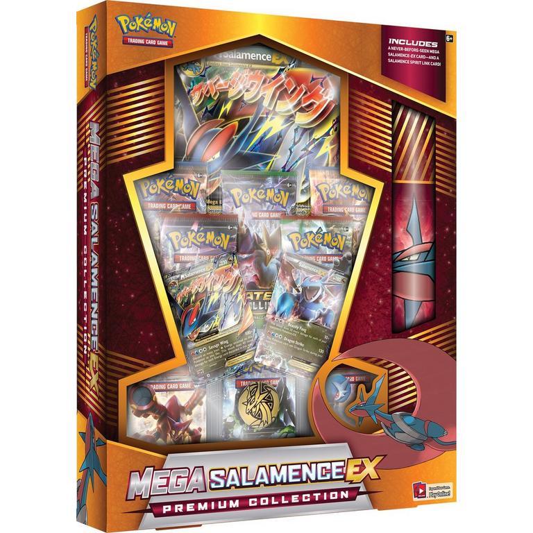 Pokemon Trading Card Game Mega Salamence/Mega Garchomp EX Premium Collection (Assortment)
