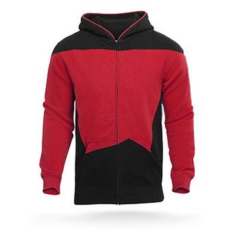 Star Trek The Next Generation Uniform Hoodie