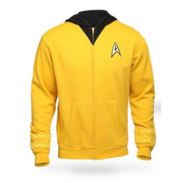 Star Trek The Original Series Uniform Hoodie Command
