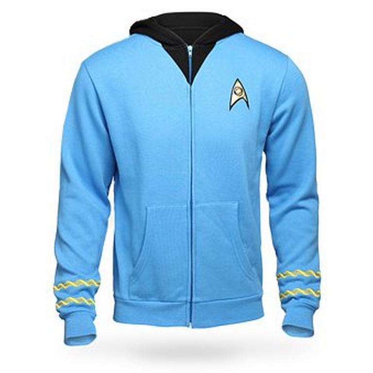 Star Trek The Original Series Uniform Hoodie Science