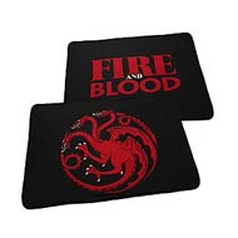 Game of Thrones TwoSided Fleece Blanket Targaryen