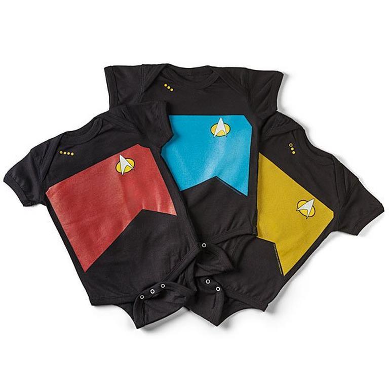 Star Trek The New Generation Uniform Bodysuits